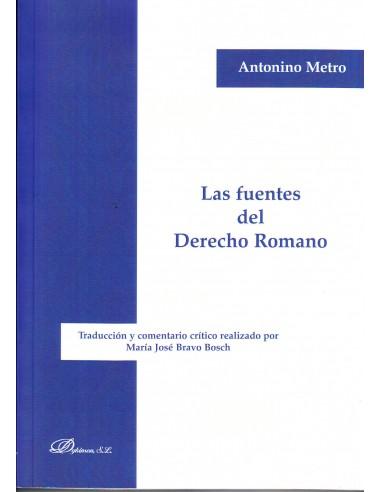 Las fuentes del derecho romano