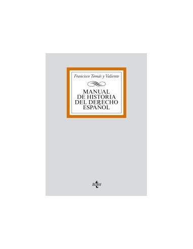 Manual de historia del derecho. 4ªEd. Reimpresión 2016