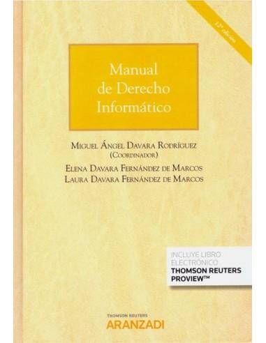 Manual de Derecho Informático. 12ªEd.